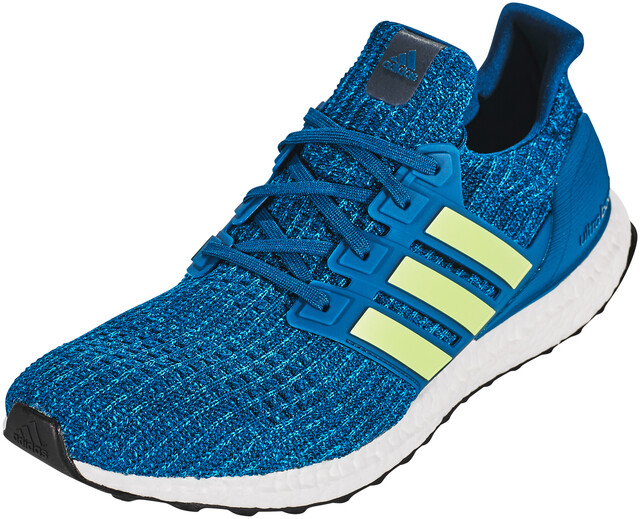 adidas UltraBoost Running Shoes Herre legend marinehi res yellowftwr white